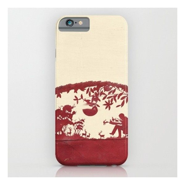 The Deer Maker iPhone 6s Case ($35) ❤ liked on Polyvore featuring accessories, tech accessories and iphone & ipod cases