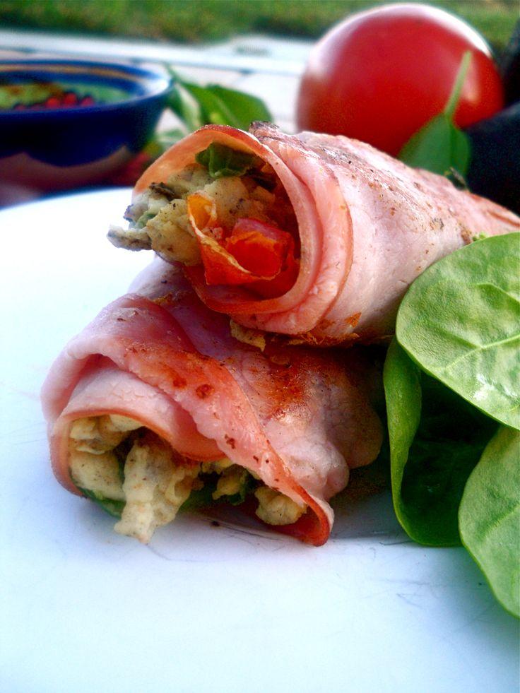 Paleo Breakfast Burritos--better than using white flour tortillas.