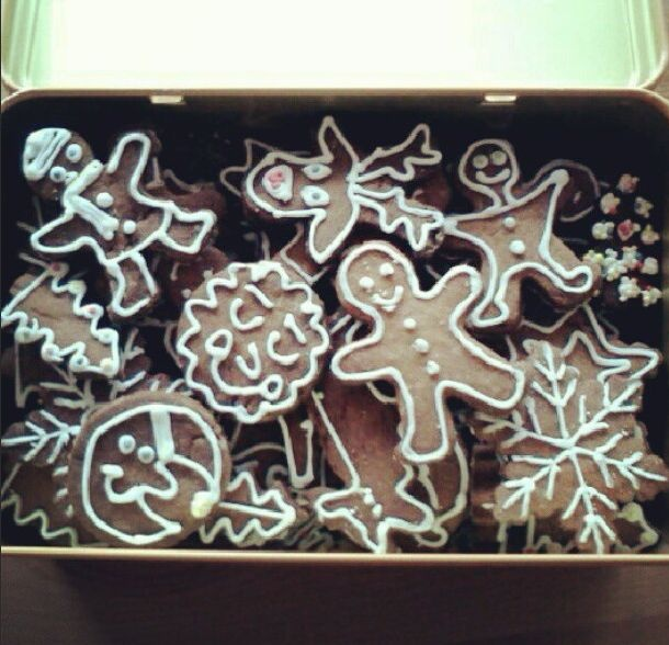 christmas gingerbread creatures