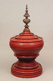 Shan 19th Century Hsun-ok Ceremonial Offering Bowl