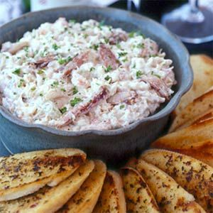 Healthier Crab Meat Dip Recipe!: Christmas Dinners Recipe, Christmas Dinners Menu, Red Peppers, Cruisin, Food, Crabs Dips Recipe, Appetizers, Hot Sauces, Cream Chee