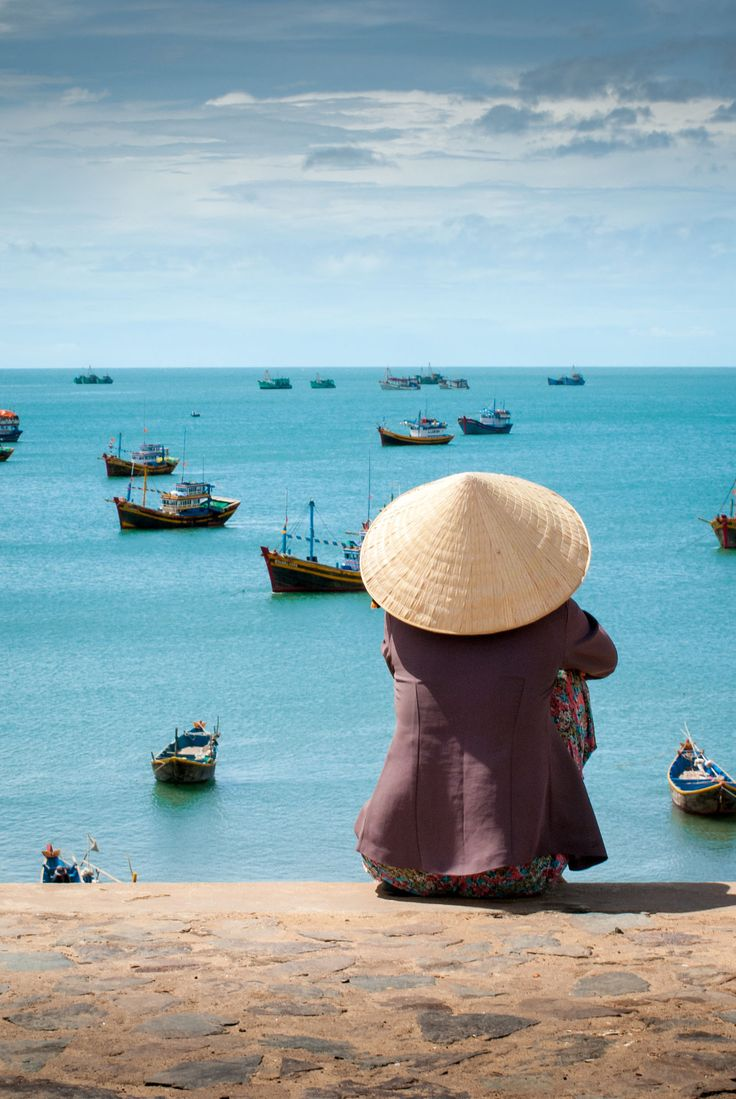Fishing boats, Phan Thiet, Vietnam