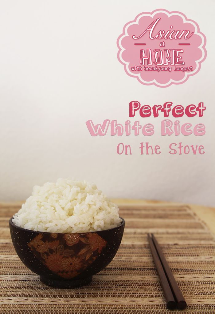 Perfect White Rice on Stove for Korean/Japanese Cuisine - Asian at Home