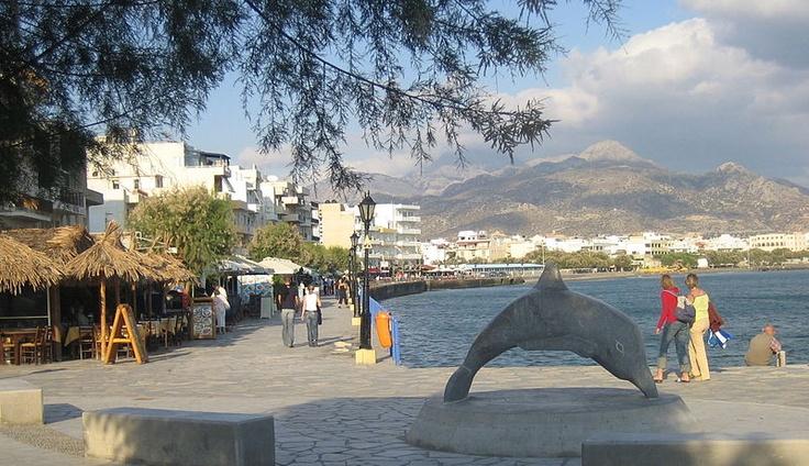Ierapetra seafront, Crete