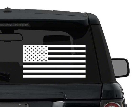 US American Flag Decal Sticker for Car Truck by InfernoDecals
