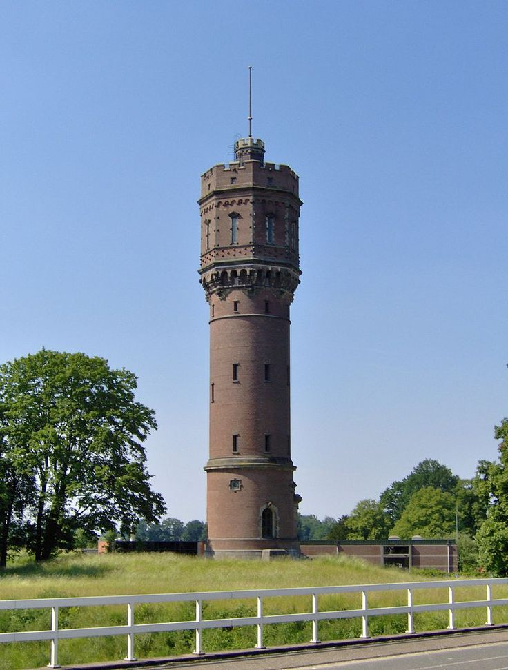 Watertoren behorend bij landgoed Twickel, Delden ©Tubantia