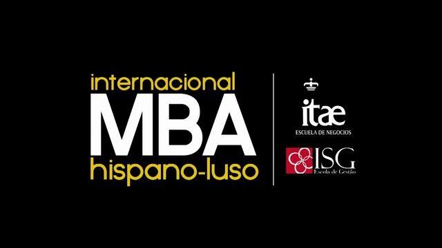 Master Internacional MBA Hispano-Luso de ITAE by ZINQ Comunicación. El MBA INTERNACIONAL HISPANO LUSO de Itae es una experiencia única que une dos factores altamente diferenciales:
