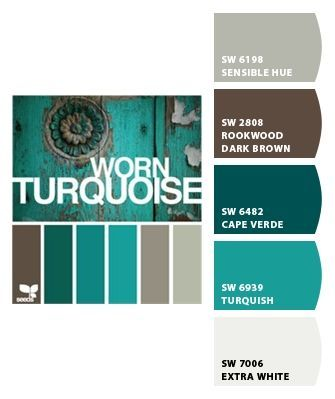 Chip It By Sherwin Williams I Love Teal Turquoise And Grey Is Creative Inspiration For Us Get More Photo About Home Decor Related With