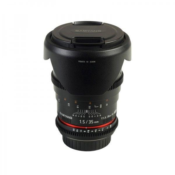 Samyang T1.5 35mm VDSLR montura Canon - Samyang Romania