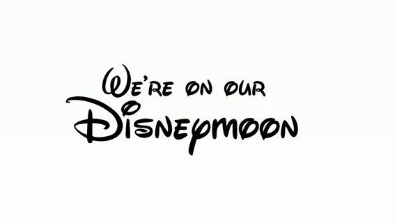 Hey, I found this really awesome Etsy listing at https://www.etsy.com/listing/192585056/were-on-our-disneymoon-t-shirts-perfect