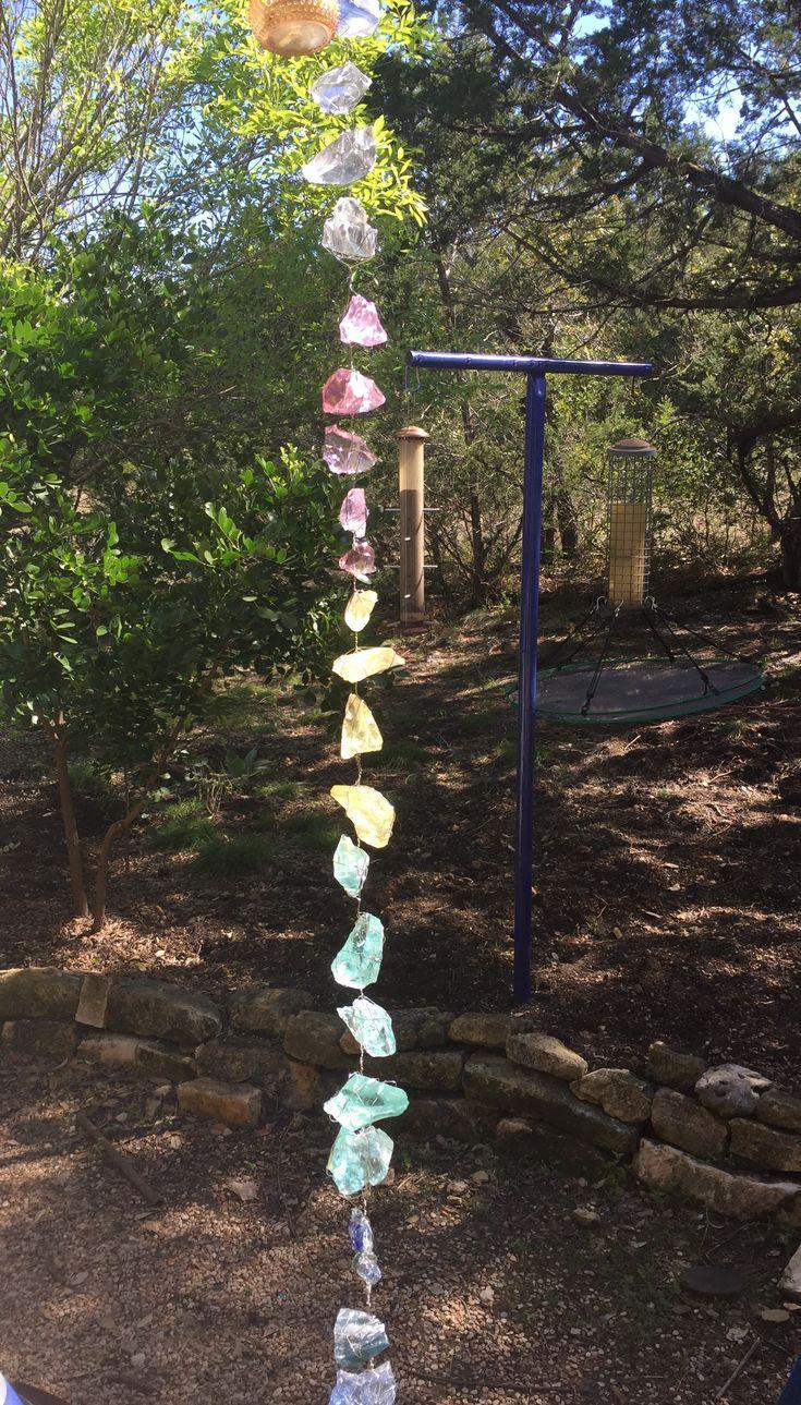 Diy Rain Chain Rain Chain Diy Rain Garden How To Make 400 x 300