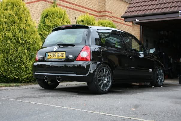 My old clio sport 182