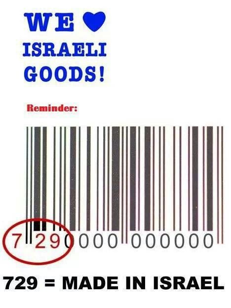 Did not know this - I'm so excited to find out which products are Israeli made!