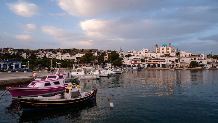 Lipsi - Vue sur le port - Hellenica - Découvrez les iles grecques et organisez votre voyage