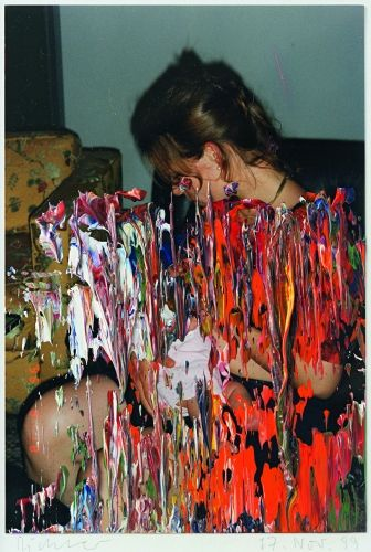 Gerhard Richter Overpainted Photographs http://www.gerhard- richter.com/art/overpainted-photographs/family-88/untitled-17-nov-99-14271