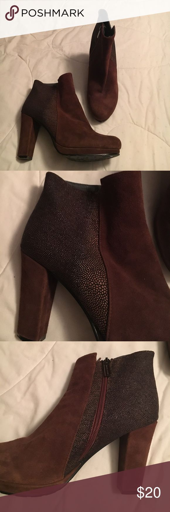Sacha London Flavia Boot With Leather Upper Sacha London Flavia Boot With Leather Upper Sacha London Shoes Ankle Boots & Booties