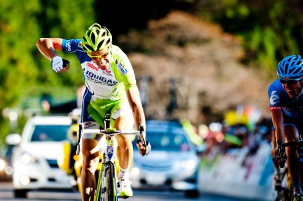 Ivan Basso (Liquigas-Cannondale) wins the Japan Cup.