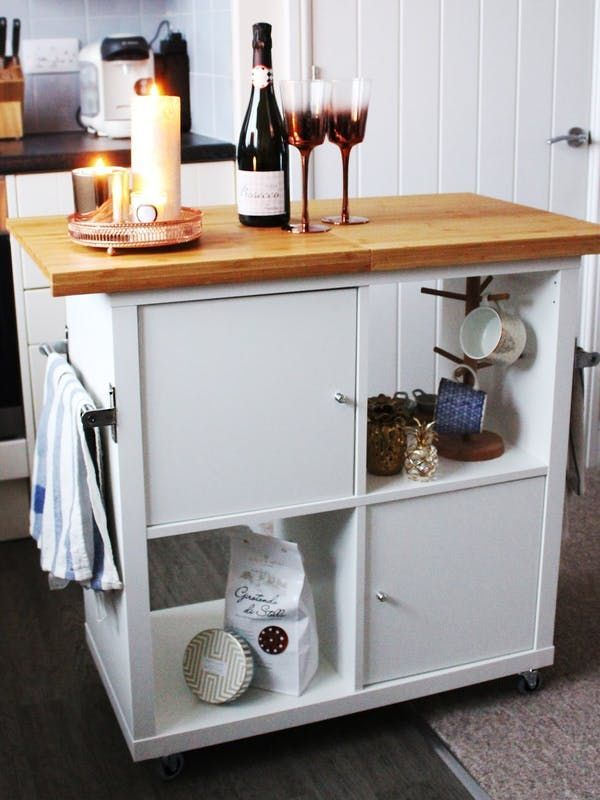Can't find (or afford) the kitchen island of your dreams? Get inspired by these IKEA hacks.