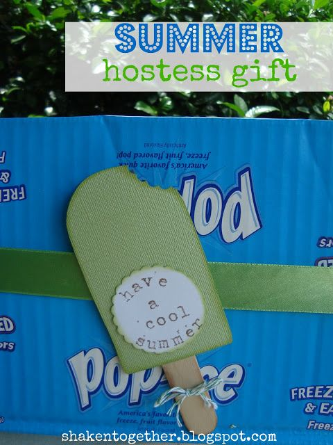 "shaken together: ""have a cool summer"" summer hostess gift"