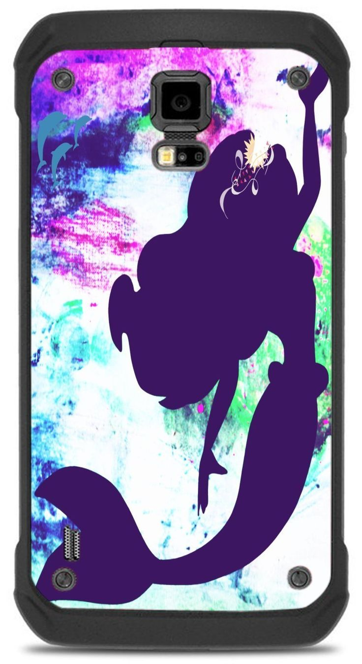 The Little Mermaid Silhouette Beautiful Art Design Print Image Samsung Galaxy S5 Active VINYL STICKER DECAL WRAP SKIN by Trendy Accessories available at https://www.amazon.com/dp/B06VT3RYXG #vinyldecalsticker #galaxys5 #mobileaccessories #mermaid