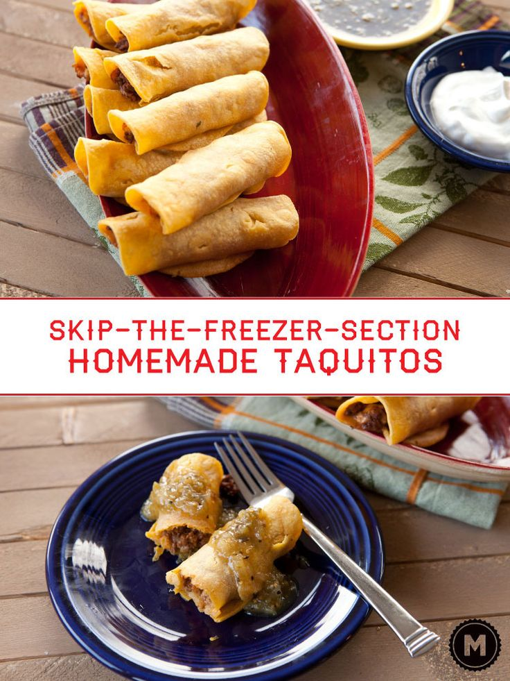 homemade taquitos homemade taquitos taquitos recipe perfect game game ...