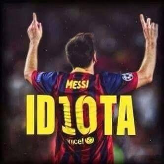Una forma diferente de ver a Messi