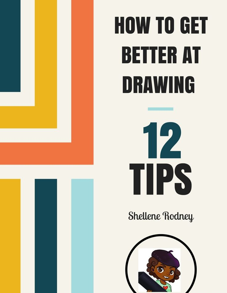 how to get better in drawing tips