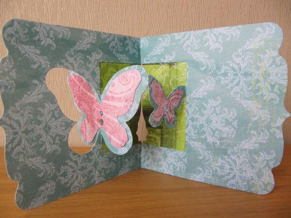 Vue int rieure de la carte carte pop up sizzix design for Bloqueur de fenetre pop up
