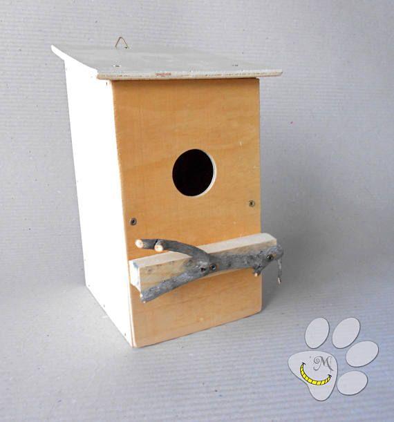 Casetta per uccellini per giardino o balcone - Materiali riciclati - nido - animali - regalo istruttivo per bambini