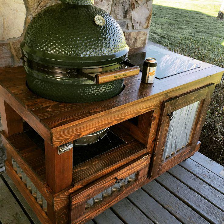 Kamado Joe Outdoor Kitchen: 25+ Best Ideas About Big Green Egg Large On Pinterest