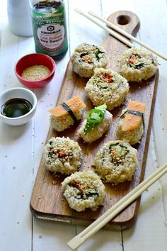 """Vegan Spicy """"Tuna"""" Sushi 