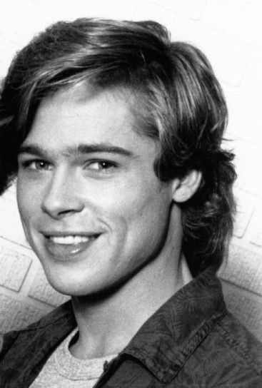 Is that a younger you? Oh wait, that's Brad Pitt.