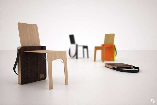Bag Chair Brings Class to the Mobile Furniture Department #uniquefurniture #differenthomedecor