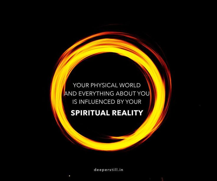 "You are spirit! Everything for you begins with your spiritual reality... ""Your life is a product of what you believe"" - Matthew 9:29 #LifeDeeperStill"