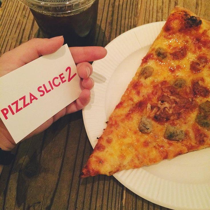 青山にオープン!「ピザスライス2」でNYスタイルのピザを楽しもう - macaroni