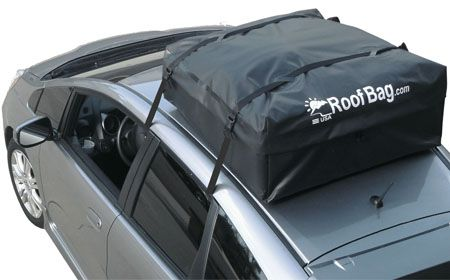 Must have for next trip! RoofBag car top carrier for cars without rack