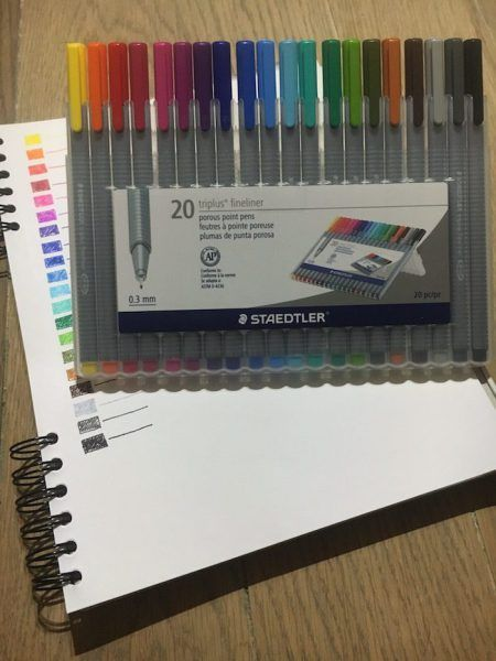 Are Staedtler Triplus Fineliner pens the best pens for your bullet journal? Find out with this review