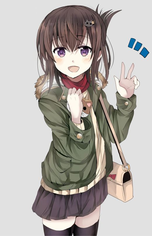Anime Characters With Brown Hair : Best anime art images on pinterest