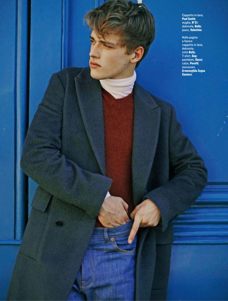 Billy Vandendooren is Parisian Chic for Style Shoot