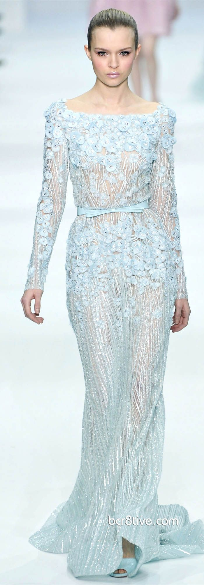 Elie Saab Spring Summer 2012-2013 Haute Couture Blair Waldorf wore this in the series finale as her wedding dress <3