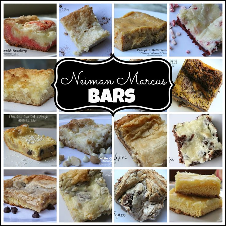 Hello!  Hello! Today, I'm talking all about my favorite kind of bars…Neiman Marcus.  Some people...