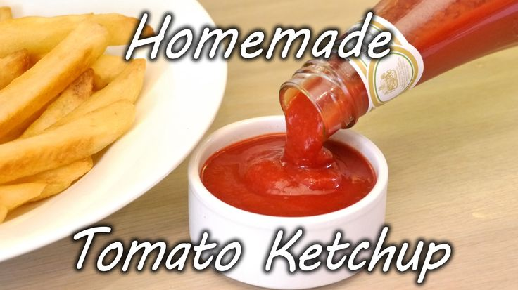Homemade tomato ketchup recipe. Learn how to make your own ketchup in this simple to follow video guide. It show the ingredients you need to make your own to...