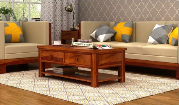 The indispensable piece of furniture for your living room infused with style and elegance. 😍 The Dulcie Center Table is an art piece with four drawers made of #sheesham wood. #solidwoodfurniture #centretable #coffeetable #tables #livingroomfurniture #homefurniture #homedecor #onlineshoppinginindia #india 🇮🇳️ Quick view of the coffee table: https://goo.gl/NLrdhQ