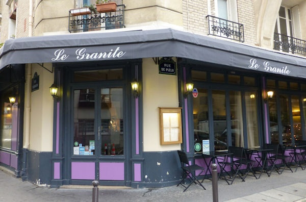 For an enchanting, off-the-beaten-path dining experience, we believe that travelers to Paris will not regret the extra effort required to get to Le Granite, located in the southwestern corner of the city.  http://www.parisinsights.com/restaurants.php