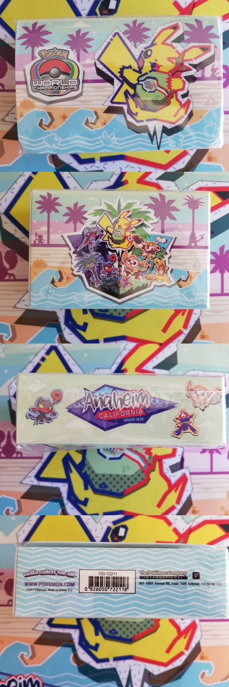 Other Pok mon TCG Items 2608: Pokemon World Championship 2017 Anaheim Double Deck Box Pokemon Tcg Cards! -> BUY IT NOW ONLY: $46 on eBay!