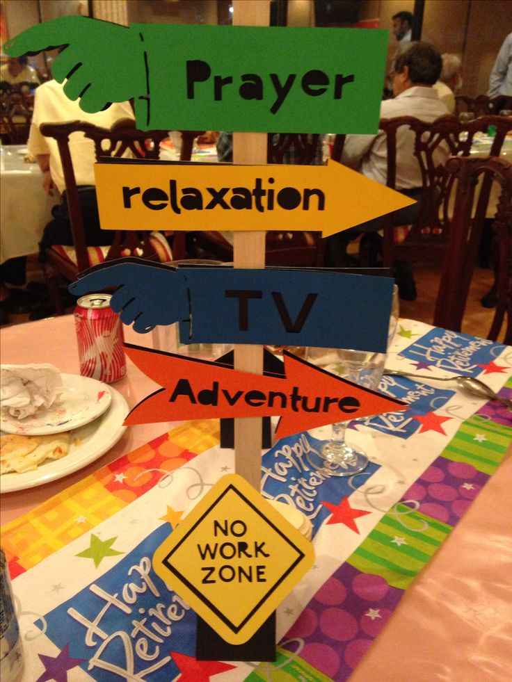 Table Decoration Ideas For Retirement Party birthday party ideas for men centef pices the party was a combination retirement60th Retirement Party Centerpiece