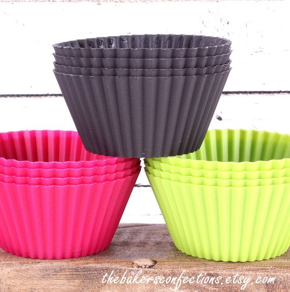 SALE Lekue Silicone Cupcake Liners  by thebakersconfections, $28.99
