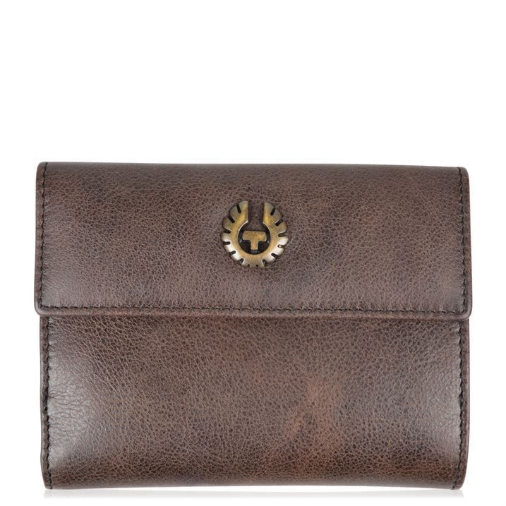 #Belstaff #womens dark brown leather coin note & card wallet purse #brand new,  View more on the LINK: http://www.zeppy.io/product/gb/2/141950358410/