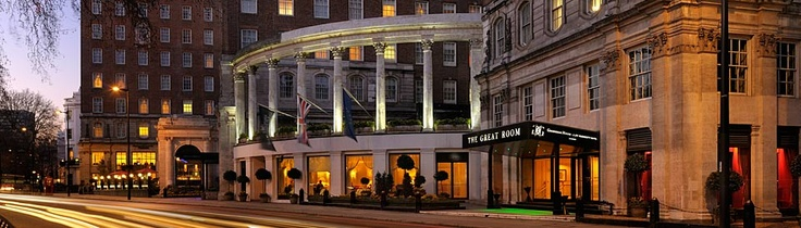 Grosvenor House, JW Marriott on Park Lane in London
