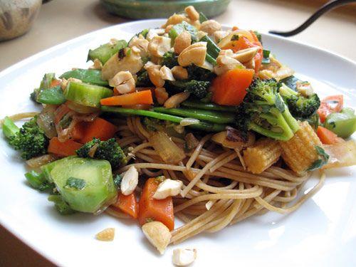 fried crispy noodles how to make with vegetables